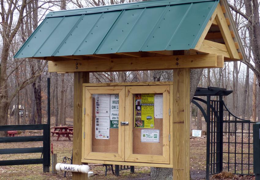 Trailhead Kiosk