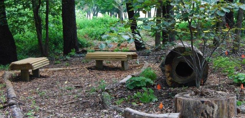 Woodland Garden Benches Gabay