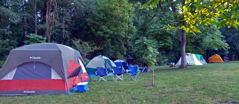 Tents in Arboretum 2